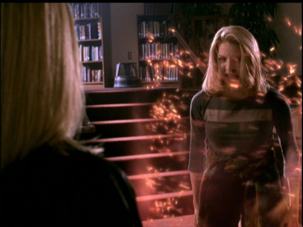 Amy turning Buffy into a rat.